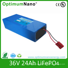 36V 25ah Lithium Battery Pack for Electric Bike